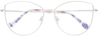 Tom Ford Soft Cat-Eye Frame Glasses