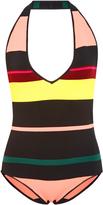 Apiece Apart La Linea Striped Bodysuit