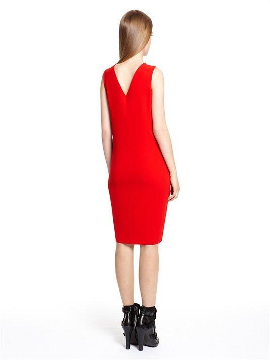 DKNY V-Neck Dress With Back Cut Out