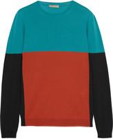 Bottega Veneta Color-block merino wool sweater