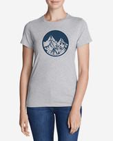 Eddie Bauer Women's Graphic T-Shirt - Camp Under The Stars