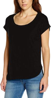 Urban Classics Urban Classic Women's Ladies Long Back Shaped Slub Tee T-Shirt