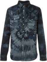 Valentino tie dye butterfly shirt