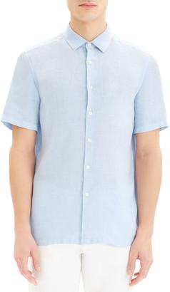 Theory Men's Murray Summer Linen Sport Shirt