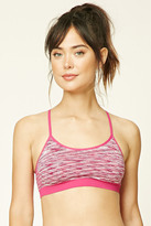 Forever 21 FOREVER 21+ Low Impact - Space Dye Sports Bra