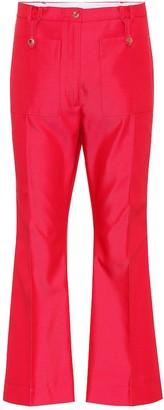 Golden Goose Selene cotton-blend twill trousers