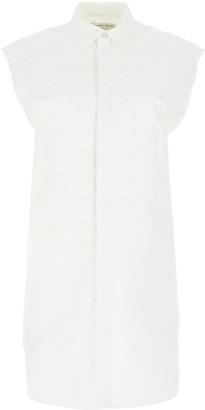 Bottega Veneta Padded Front Sleeveless Shirt