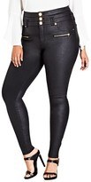 City Chic Plus Size Women's Pick Me Up Stretch Skinny Jeans
