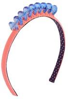 Cat & Jack Girls' Jewel Crown Headband Cat & Jack - Peach