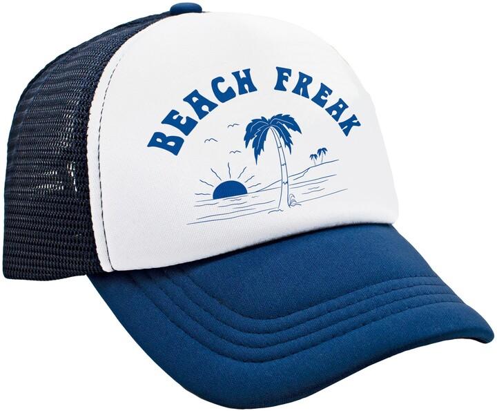 Feather 4 Arrow Beach Freak Trucker Hat