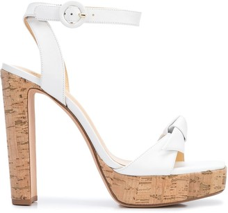 Alexandre Birman Block Heel Ankle Strap Sandals