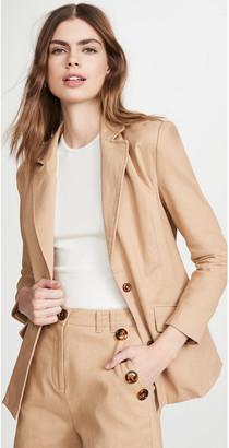 KENDALL + KYLIE Twill Blazer Jacket