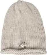 Inverni Cashmere beanie with pearl