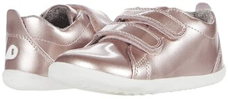 Bobux Step Up Grass Court - Waterproof (Infant/Toddler) (Rose Gold) Girl's Shoes