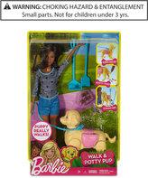 Barbie Mattel's Walk & Potty Pup