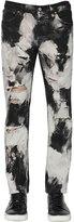 Htc Hollywood Trading Company 17.5cm Tie Dye Cotton Denim Jeans