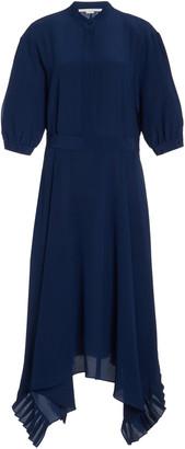 Stella McCartney Ophelia Silk Handkerchief Dress