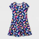 Cat & Jack Girls' Shooting Star Dress - Cat & Jack Blue