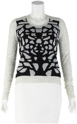 Diane von Furstenberg Grey Wool Jumpsuits
