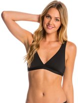 Carmen Marc Valvo Lattice Solid Halter Strappy Bikini Top 8145105