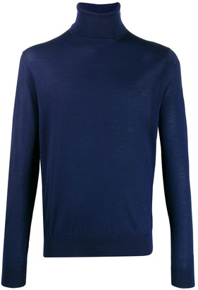 Prada Turtle Neck Knitted Sweater