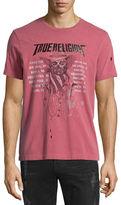 True Religion 4th Skull & Logo-Graphic Short-Sleeve Tee, Ruby