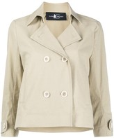 Luisa Cerano double-breasted trench jacket