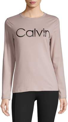 Calvin Klein Stretch Long-Sleeve Tee