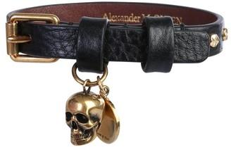 Alexander McQueen Buckle Skull Bracelet