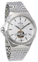 Edox Men's 85024 3M AIN Delfin Analog Display Swiss Automatic Silver Watch