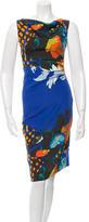 Etro Ruched Silk Dress