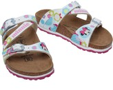 Birkenstock Infant Girls Salina Birko-Flor Narrow Fit Sandals Love Minnie White
