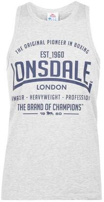 Lonsdale London Boxing Vest Top Mens