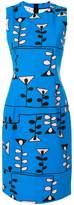 Marni geometric sheath dress