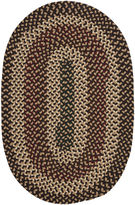 Colonial Mills Brook Farm Reversible Braided Indoor/Outdoor Round Rug
