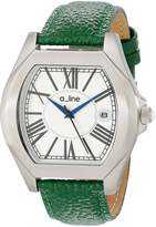 A Line a_line Women's AL-80008-02-D-GN Adore Dial Green Leather Watch
