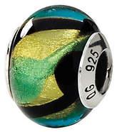 Murano Prerogatives Sterling Multicolored Italian Glass Bead