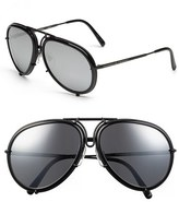 Porsche Design Men's 'P8613' 61Mm Retro Sunglasses - Black