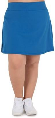 Athletic Works Women's Plus Size Cotton Core Skort