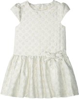 Kate Spade Gold Dot Dress (Toddler/Kid) - Cream/Gold - 2