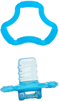 Dr Browns Blue Flexees A-Shaped Teether & Orthees Transition Teether