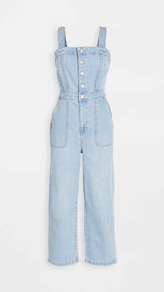 Madewell Seamed Strap Jumpsuit