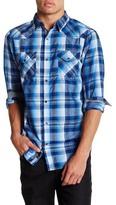 Burnside Plaid Long Sleeve Shirt