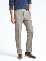 Banana Republic Standard Fit Non-Iron Glen Plaid Pant