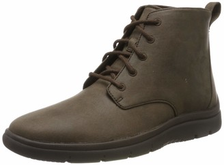 Clarks Mens Ankle Boots Brown Size: 11 UK