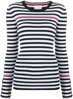 Tommy Hilfiger Striped Ribbed Sweater