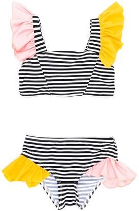 Wauw Capow By Bangbang Loretta striped bikini