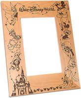 Disney Walt World Cinderella Castle Photo Frame by Arribas - Personalizable