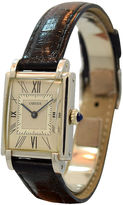 One Kings Lane Vintage 1940s Platinum Cartier Tank-Style Watch