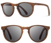 Shwood 'Belmont' 48mm Wood Sunglasses